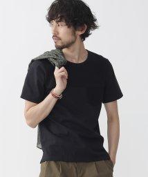 nano・universe/異素材切り替えTシャツS/S/500275402