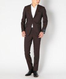 SHIPS MEN/SD: CERRUTI別注生地 【i-CRUISE】 ブラウン ソリッド スーツ/500293286