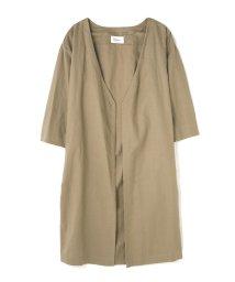 PROPORTION BODY DRESSING/《BLANCHIC》麻ガウン/500295094