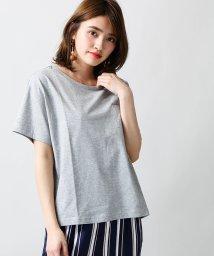 WEGO/SILKCOTTON UネックTシャツ/500111214