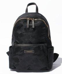LA BAGAGERIE/カモフラジャカードナイロン リュックサック Sサイズ/500288470