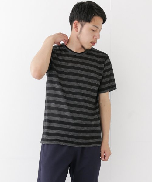 URBAN RESEARCH OUTLET(アーバンリサーチ アウトレット)/【WAREHOUSE】TRボーダー半袖TEE/WH7511M005