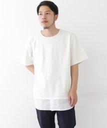 URBAN RESEARCH/【WAREHOUSE】裾切り替えオーバーサイズTEE/500291420