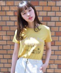 Ray Cassin /発泡ロゴプリントTシャツ/500308378