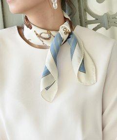 <マガシーク>【marjour(マージュール)】ジョガー柄スカーフ画像