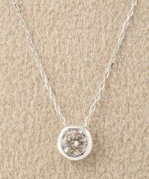 DECOUVERTE/18KWG 0.2ct ダイヤモンド Fネックレス/500310053