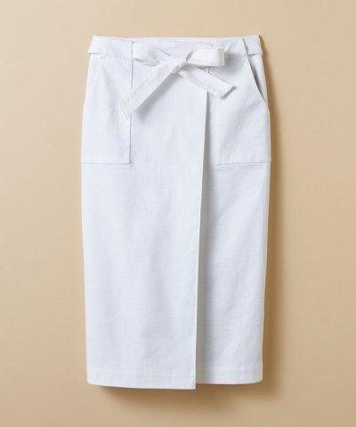 【haco!(ハコ)】パッと着るだけで女らしくてかっこいい ラップ風スカート by que made me