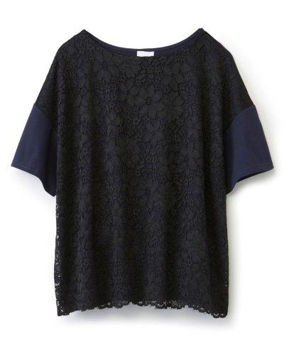 【haco!(ハコ)】気軽に大人かわいいレースTシャツ