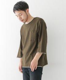URBAN RESEARCH/【WAREHOUSE】裏毛裾刺繍C/NTEE/500308800