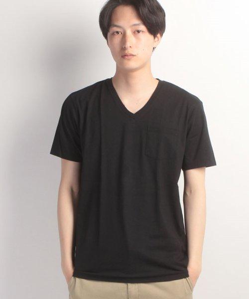JNSJNM(ジーンズメイト メンズ)/【FREE GATE】汗染み防止VネックTシャツ/210010156