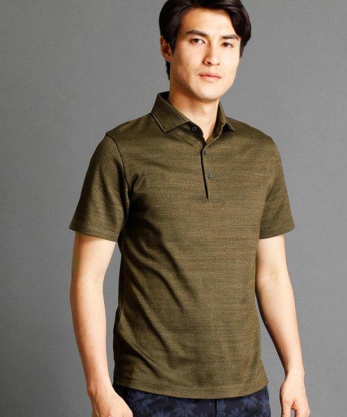MONSIEUR NICOLE(ムッシュニコル)/インディゴ風ポロシャツ/7262-9521