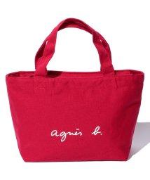 agnes b. Voyage/GO03‐02 ロゴトートバッグ/500319495