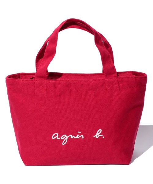 agnes b. Voyage(アニエスベー ボヤージュ)/GO03‐02 ロゴトートバッグ/M771VSA9E17C