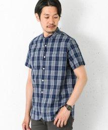 URBAN RESEARCH/【DOORS】インディゴドビーチェックS/Sシャツ/500321019