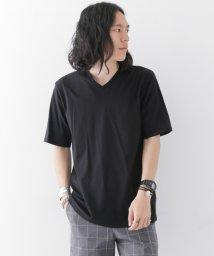 URBAN RESEARCH/【WAREHOUSE】裾刺繍V/N半袖TEE/500326285
