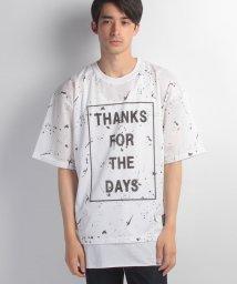 JNSJNM/【REPEZEE:N】メッシュプリントアンサンブルTシャツ/500330519