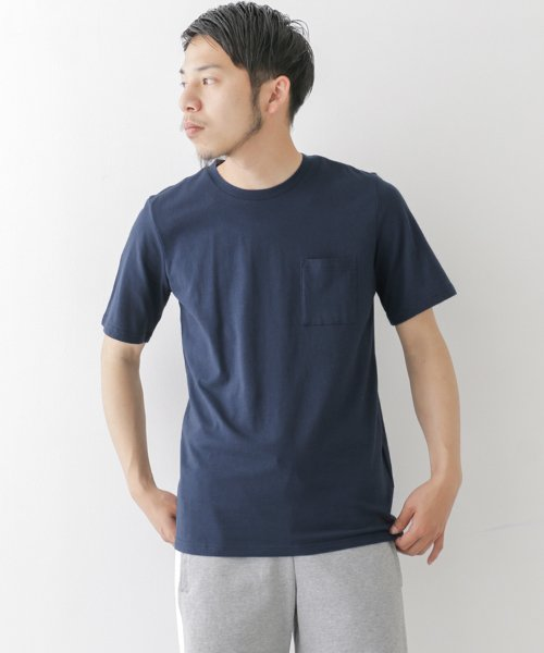 URBAN RESEARCH OUTLET(アーバンリサーチ アウトレット)/【WAREHOUSE】C/N裾プリントTEE/WH7511M023
