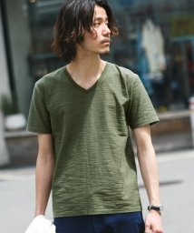 URBAN RESEARCH Sonny Label/USAcottonスラブVネックTシャツ/500343491