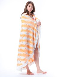 VacaSta Swimwear/【CALIFORNIA SHORE】タイダイボーダーラウンドタオル/500331888