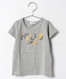 koe kids/ドットロゴプリント半袖Tシャツ/500337556