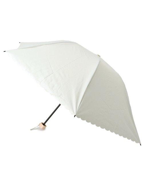 grove(グローブ)/晴雨兼用スカラップドット折り畳み傘/99990976941111