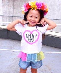 ANAP KIDS/チュール切替トップス/500341552