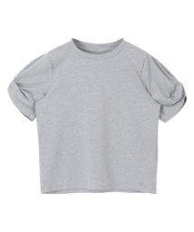 titivate/ツイストスリーブカットソーTシャツ/500349755