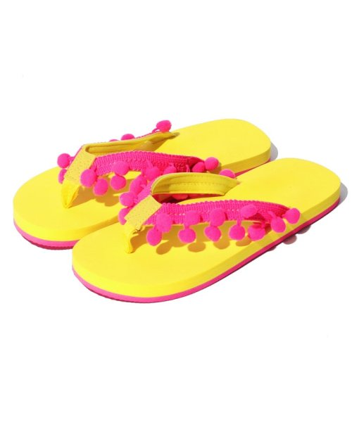 VacaSta Swimwear(バケスタ スイムウェア(レディース))/【CALIFORNIA SHORE】スタンプサンダル/227023