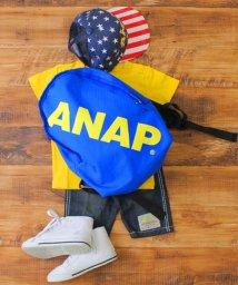 ANAP KIDS/バイカラー斜めロゴリュック/500350197
