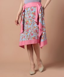 beautiful people/trap flower printscarf skirt/500350092