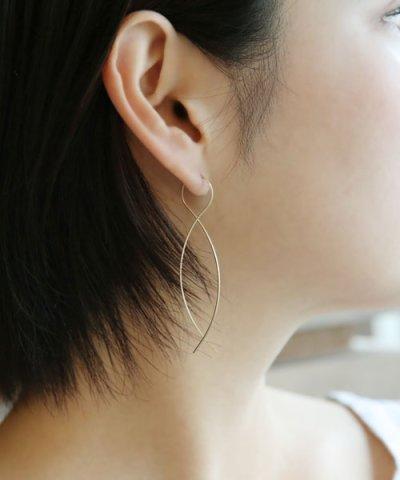 <マガシーク>【colleca la(コレカラ)】[by boe]エイトラインピアス