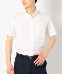 SHIPS MEN/SD: 【カラミ素材】 ソリッド ホリゾンタルカラー シャツ/500361804