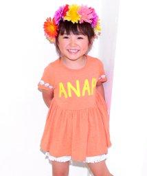 ANAP KIDS/袖シェルミニワンピース/500350205