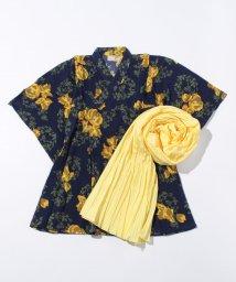 petit main/大花柄ワンピース型浴衣×帯セット/500356067