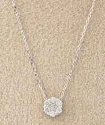 DECOUVERTE/18KWG 0.1ct ダイヤモンド ネックレス/500368612