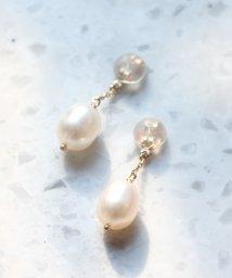 jupiter/fresh water pearlピアスキャッチ/500085141