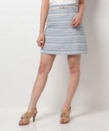 MIIA/ツイードトラペラーズスカート/500361338