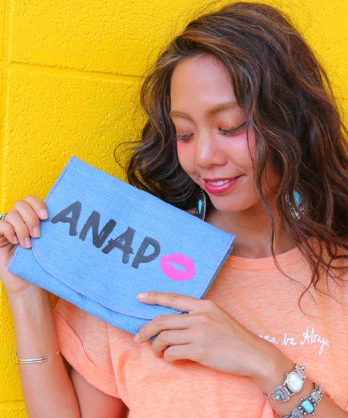 ANAP KIDS(アナップキッズ)/デニム母子手帳ケース/0400300501
