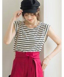 Re:EDIT/UネックシンプルTシャツ/500375826