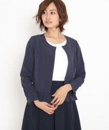 ketty/フリル使いノーカラ―ジャケット/500380129