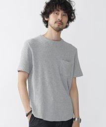 nano・universe///ヘビーワッフルビッグTシャツ/500372955