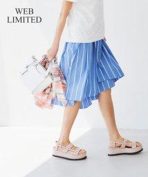 JIYU-KU /【WEB限定カラーあり・洗える】タイプライターフィッシュテール スカート/500381701