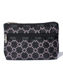 LeSportsac/COSMETIC CLUTCH モノグラムピンク/LS0018637