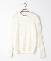 NOLLEY'S/S 【Sea New York/シー ニューヨーク】 Striped Gauze Sweater (RS16-111)/500383513