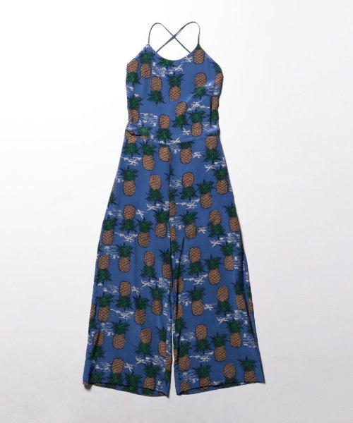 NOLLEY'S(ノーリーズ)/S 【Sea New York/シー ニューヨーク】 Pineapple Jumpsuit (SS16-88)/60206109001