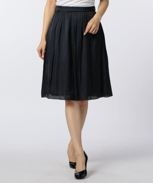 NOLLEY'S(ノーリーズ)/ヴィンテージサテンギャザースカート/70055106003