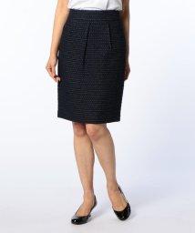 NOLLEY'S/ツィードタイトスカート/500384008