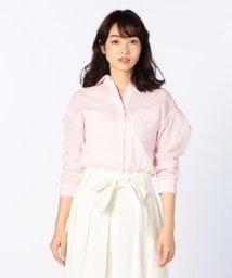 NOLLEY'S/コットンラミーボイルシャツ/500384068