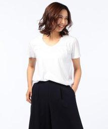 NOLLEY'S/【Freeseam/フリーシーム】UネックRelux Tシャツ/500384123