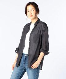 NOLLEY'S/コットンラミーボイルシャツ/500384378